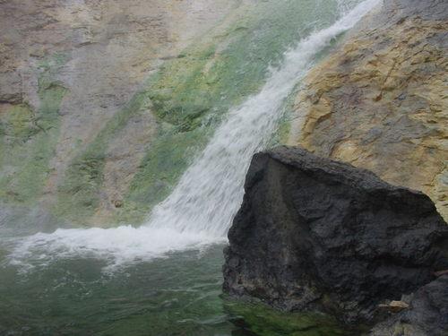 カムイワッカ 湯の滝